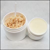 Foot Scrub and Foot Butter